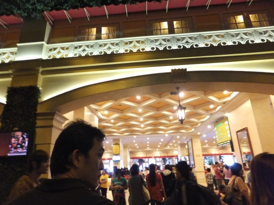 First World Hotel Lobby!
