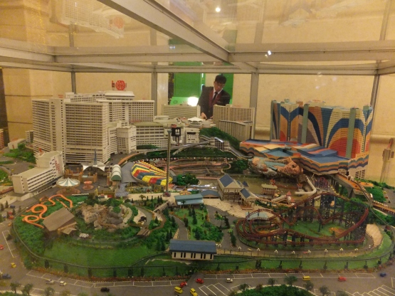Genting Highland Miniature Model