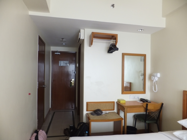 First World Hotel Rm Lvl 4 - View frm the Window Facing Door