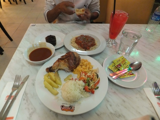1st Day Dinner at Kenny Rogers