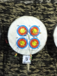 Genting Highland Archery Shooting Board