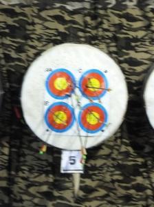 Genting Highland Archery Shooting Board