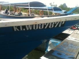Boat at Tanjung Rhu Jetty, Langkawi