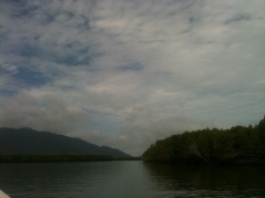 Mangrove Tour, Langkawi Breathtaking view out in open sea