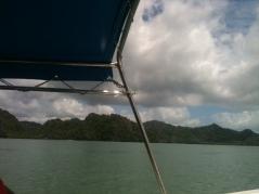 Boating through Andaman Sea, Langkawi,awesome