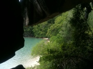 Love this shot taken from Gua Cerita, Langkawi