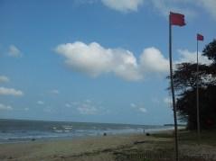 Desaru Damai Beach Resort Red Flag