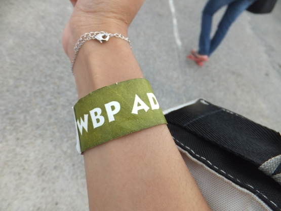 Batu Pahat Wet World Wrist Tag