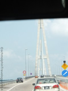 Reaching Senai-Desaru Expressway Bridge
