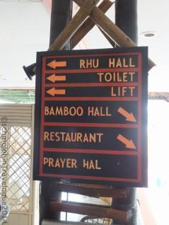 Desaru Damai Beach Resort Signboard