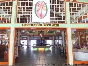 Desaru Damai Beach Resort Entrance