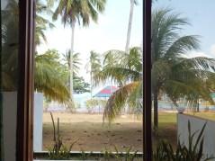 Desaru Damai Beach Resort Room 2 Balcony View Closeup