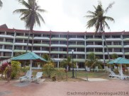 Desaru Damai Beach Resort view from Swimming Pool