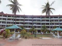 Desaru Damai Beach Resort view from Swimming Pool
