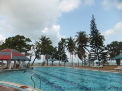 Desaru Damai Beach Resort Swimming Pool Left