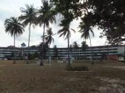 Desaru Damai Beach Resort view from Beach