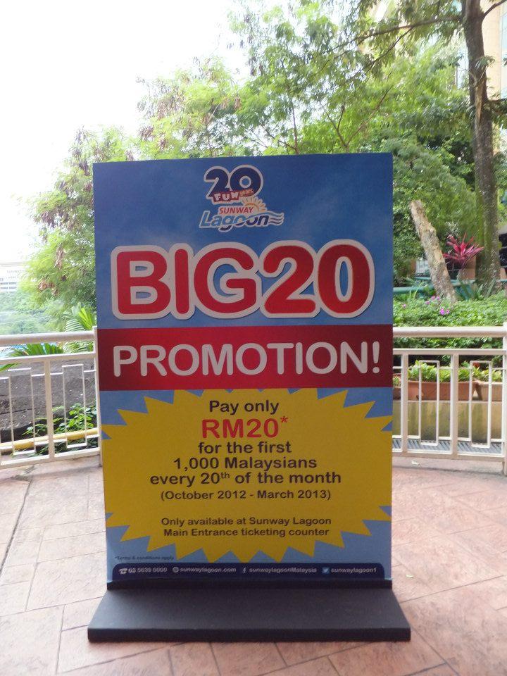Sunway Lagoon Promo for Malaysian