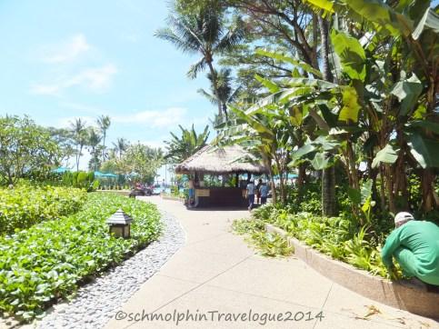 Path to Shangri-La's Rasa Ria Nature Reserve