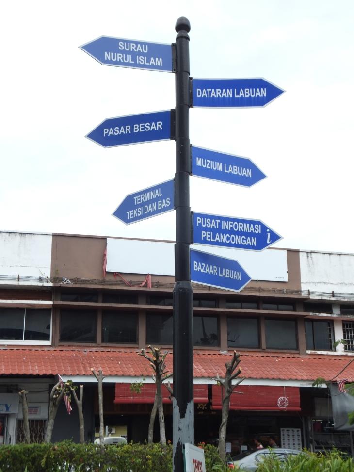 Labuan Signboard