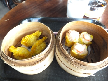 Fook Yuen Cafe Bakery Dumpling and Crab Siu Mai
