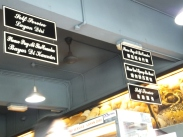 Signboards in Fook Yuen Cafe Bakery