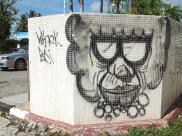 Labuan - Graffiti in Labuan Town - A Clown Graffiti?