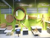 Labuan Muzium - Kadayan Hunting Tools