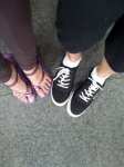 Our footwear for this trip
