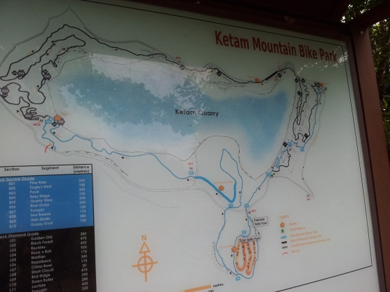Pulau Ubin Ketam Mountain Bike Park Trail