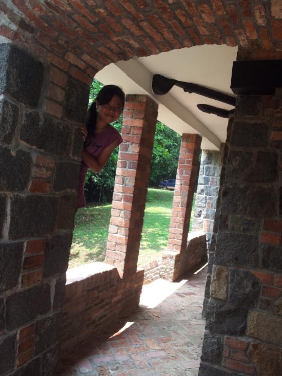 "Side of Chek Jawa House No.1 - ""Boo!"""