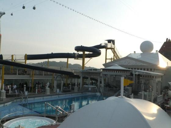 Superstar Virgo Deck 12 - Parthenon Pool