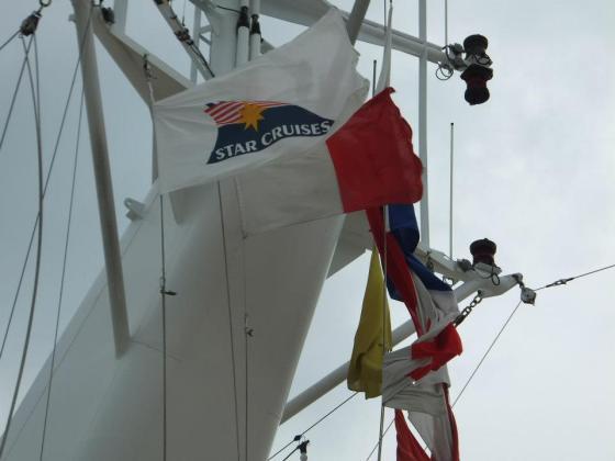 Supoerstar Cruise Virgo Flag