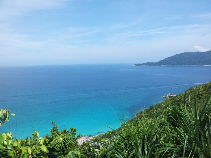 Pulau Perhentian Kincir Angin Viewpoint - Left Side