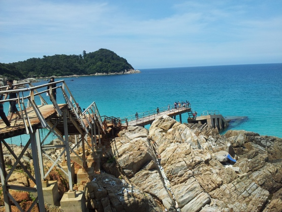 Pulau Perhentian Kincir Angin Jumping Area