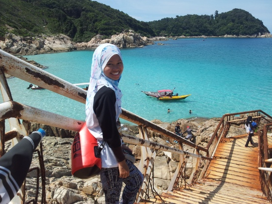 Can't wait to swim at Pulau Perhentian Kincir Angin