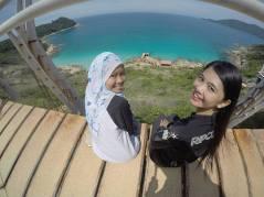 Pulau Perhentian Kecil Windmill / Pulau Perhentian Kecil Kincir Angin - GPJB to Kincir Angin - Pic for Momentos with my friend, GPJB President's wife