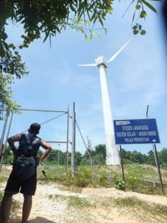 Pulau Perhentian Solar System - Pulau Perhentian Kecil Windmill / Pulau Perhentian Kecil Kincir Angin - GPJB to Kincir Angin - The Hike