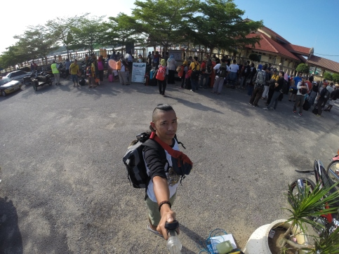 View of Pulau Perhentian Kecil from Jetty, Pics Credit to Kostonguy using GoPro