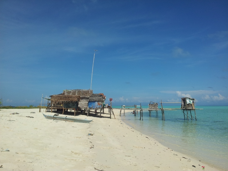 Explore Sabah, Mantabuan Island, Semporna 2014 - Bajau Laut Homes