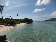 Explore Sabah, Mantabuan Island, Semporna 2014 - View From The mini Jetty - Right side