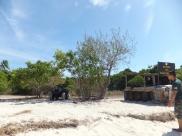 Explore Sabah, Mantabuan Island, Semporna 2014 – Military Base with tank