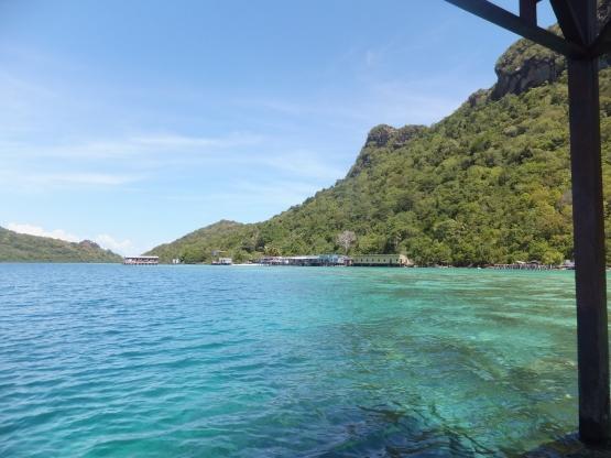 Explore Sabah Day 19: Bohey Dulang, Semporna - The blue hue water