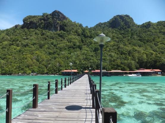 Explore Sabah Day 19: Bohey Dulang, Semporna - Bohey Dulang Jetty
