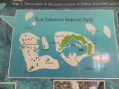 Explore Sabah Day 19: Bohey Dulang, Semporna - Tun Sakaran Marine Park Map