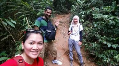 Gunung Lambak 1 day trip hike with Singapore Trekking Group - Trail back to Base in Gunung Lambak