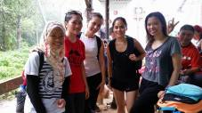 Gunung Lambak 1 day trip hike with Singapore Trekking Group - Reached Summit Checkpoint