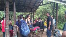 Gunung Lambak 1 day trip hike with Singapore Trekking Group - Reached Summit Checkpoint Rest Station