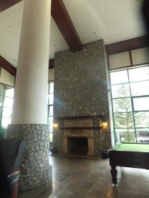 Copthorne Cameron Highland Hotel Lobby Fireplace