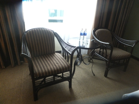 Copthorne Hotel Cameron Highland Double Superior Room Coffee Table with Mineral Bottled Water
