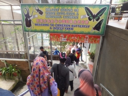 Cameron Highlands Butterfly Farm Welcome Sign